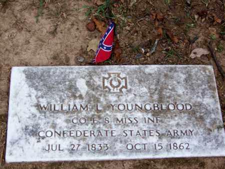 YOUNGBLOOD   (VETERAN CSA), WILLIAM L - Hamilton County, Tennessee | WILLIAM L YOUNGBLOOD   (VETERAN CSA) - Tennessee Gravestone Photos