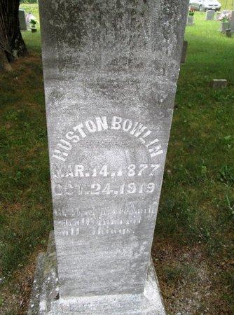 BOWLIN, HUSTON - Hancock County, Tennessee   HUSTON BOWLIN - Tennessee Gravestone Photos
