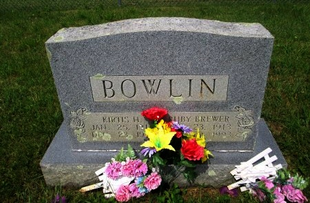 BOWLIN, RUBY - Hancock County, Tennessee   RUBY BOWLIN - Tennessee Gravestone Photos