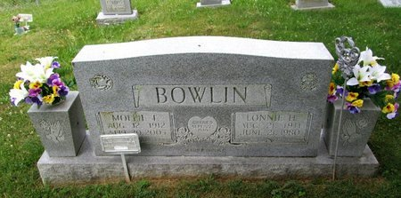 BOWLIN, MOLLIE - Hancock County, Tennessee | MOLLIE BOWLIN - Tennessee Gravestone Photos