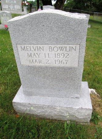 BOWLIN, MELVIN - Hancock County, Tennessee | MELVIN BOWLIN - Tennessee Gravestone Photos