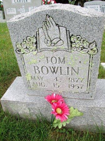 BOWLIN, TOM - Hancock County, Tennessee   TOM BOWLIN - Tennessee Gravestone Photos