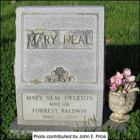 BALDWIN, MARY - Hancock County, Tennessee | MARY BALDWIN - Tennessee Gravestone Photos