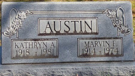 AUSTIN, MARVIN F - Hardin County, Tennessee | MARVIN F AUSTIN - Tennessee Gravestone Photos