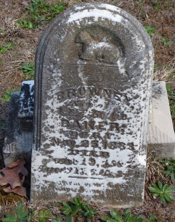 BAKER, BROWNEY - Hardin County, Tennessee | BROWNEY BAKER - Tennessee Gravestone Photos