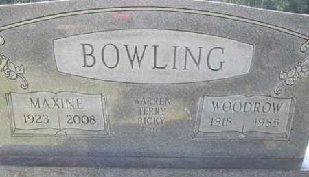 STANFIELD BOWLING, MAUD MAXINE - Hardin County, Tennessee | MAUD MAXINE STANFIELD BOWLING - Tennessee Gravestone Photos