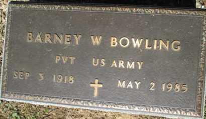 BOWLING (VETERAN), BARNEY WOODROW - Hardin County, Tennessee | BARNEY WOODROW BOWLING (VETERAN) - Tennessee Gravestone Photos