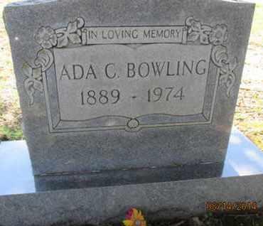 COPELAND BOWLING, MARY ADA - Hardin County, Tennessee | MARY ADA COPELAND BOWLING - Tennessee Gravestone Photos