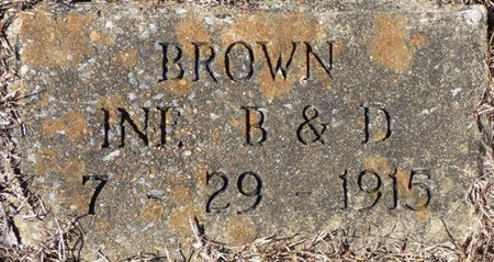 BROWN, INFANT - Hardin County, Tennessee | INFANT BROWN - Tennessee Gravestone Photos
