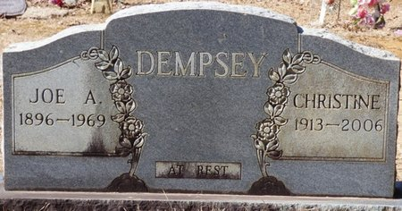 DEMPSEY, CHRISTINE - Hardin County, Tennessee | CHRISTINE DEMPSEY - Tennessee Gravestone Photos