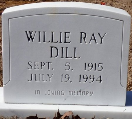 DILL, WILLIE RAY - Hardin County, Tennessee | WILLIE RAY DILL - Tennessee Gravestone Photos