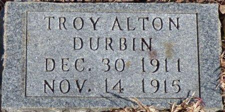 DURBIN, TROY ALTON - Hardin County, Tennessee | TROY ALTON DURBIN - Tennessee Gravestone Photos