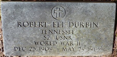 DURBIN (VETERAN WWII), ROBERT ELI - Hardin County, Tennessee | ROBERT ELI DURBIN (VETERAN WWII) - Tennessee Gravestone Photos