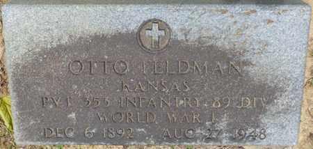 FELDMAN (VETERAN WWI), OTTO - Hardin County, Tennessee   OTTO FELDMAN (VETERAN WWI) - Tennessee Gravestone Photos