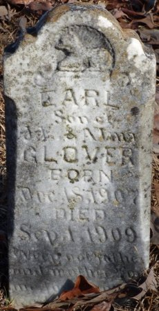 GLOVER, EARL - Hardin County, Tennessee   EARL GLOVER - Tennessee Gravestone Photos