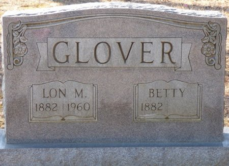 GLOVER, LON M - Hardin County, Tennessee | LON M GLOVER - Tennessee Gravestone Photos