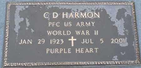 HARMON  (VETERAN WWII), C D - Hardin County, Tennessee   C D HARMON  (VETERAN WWII) - Tennessee Gravestone Photos