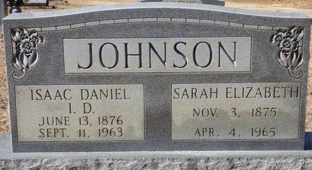 "JOHNSON, SARAH ELIZABETH ""SALLIE"" - Hardin County, Tennessee | SARAH ELIZABETH ""SALLIE"" JOHNSON - Tennessee Gravestone Photos"