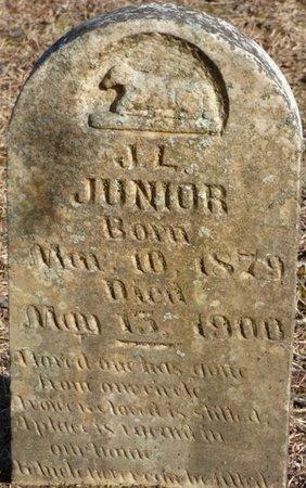 JUNIOR, J.L. - Hardin County, Tennessee   J.L. JUNIOR - Tennessee Gravestone Photos