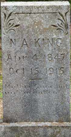 KING, N. A. - Hardin County, Tennessee | N. A. KING - Tennessee Gravestone Photos