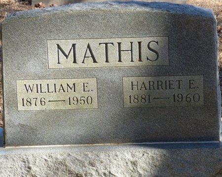 MATHIS, HARRIET E - Hardin County, Tennessee | HARRIET E MATHIS - Tennessee Gravestone Photos