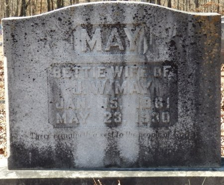 MAY, BETTIE - Hardin County, Tennessee   BETTIE MAY - Tennessee Gravestone Photos