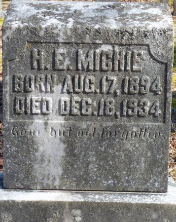 MICHIE, H.E. - Hardin County, Tennessee | H.E. MICHIE - Tennessee Gravestone Photos