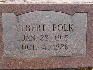 POLK, ELBERT - Hardin County, Tennessee | ELBERT POLK - Tennessee Gravestone Photos