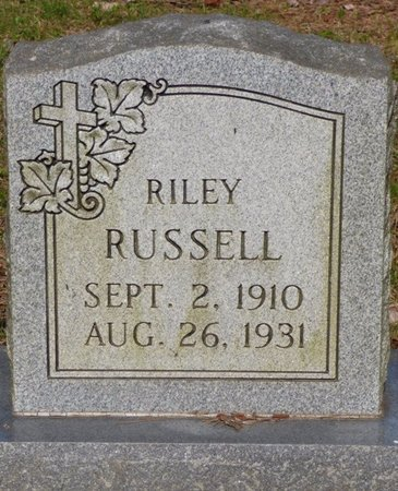 RUSSELL, RILEY - Hardin County, Tennessee | RILEY RUSSELL - Tennessee Gravestone Photos