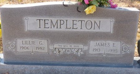 TEMPLETON, LILLIE G - Hardin County, Tennessee | LILLIE G TEMPLETON - Tennessee Gravestone Photos