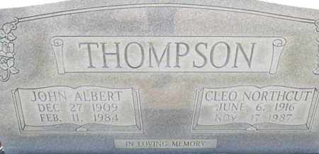 THOMPSON, CLEO - Hardin County, Tennessee | CLEO THOMPSON - Tennessee Gravestone Photos