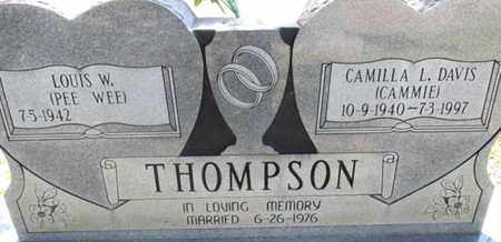 THOMPSON, CAMILLA L. - Hardin County, Tennessee | CAMILLA L. THOMPSON - Tennessee Gravestone Photos