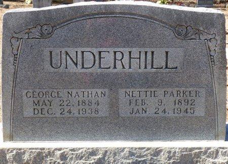 UNDERHILL, GEORGE NATHAN - Hardin County, Tennessee | GEORGE NATHAN UNDERHILL - Tennessee Gravestone Photos