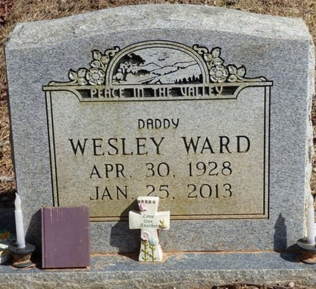WARD, WESLEY - Hardin County, Tennessee | WESLEY WARD - Tennessee Gravestone Photos