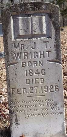 WRIGHT, J.T. - Hardin County, Tennessee | J.T. WRIGHT - Tennessee Gravestone Photos