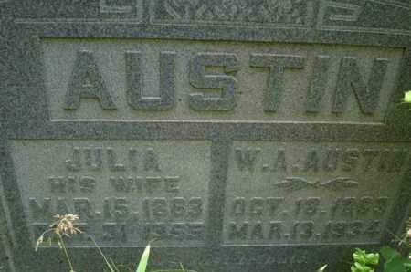 AUSTIN, W A - Henderson County, Tennessee   W A AUSTIN - Tennessee Gravestone Photos