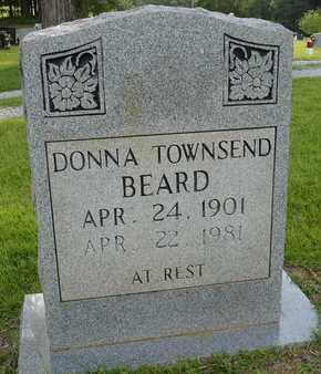 TOWNSEND BEARD, DONNA - Henderson County, Tennessee | DONNA TOWNSEND BEARD - Tennessee Gravestone Photos