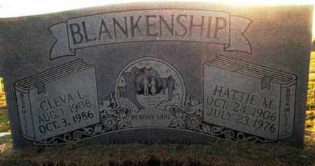 BLANKENSHIP, CLEVA L. - Henderson County, Tennessee | CLEVA L. BLANKENSHIP - Tennessee Gravestone Photos
