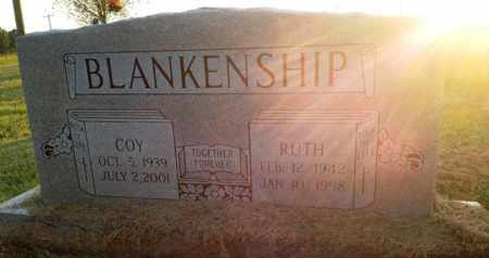 BLANKENSHIP, COY - Henderson County, Tennessee | COY BLANKENSHIP - Tennessee Gravestone Photos