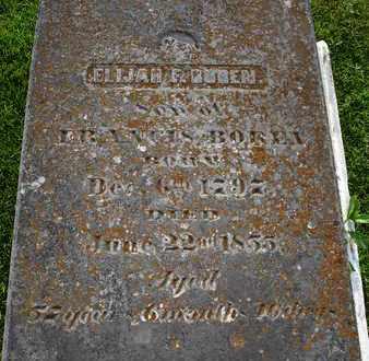 BOREN, ELIJAH F. - Henderson County, Tennessee | ELIJAH F. BOREN - Tennessee Gravestone Photos
