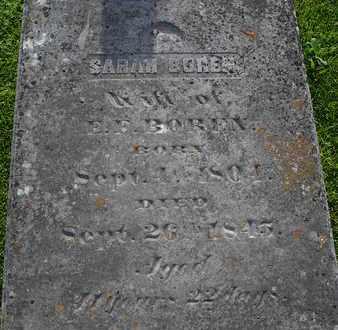 BOREN, SARAH - Henderson County, Tennessee | SARAH BOREN - Tennessee Gravestone Photos