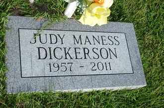 DICKERSON, JUDY - Henderson County, Tennessee | JUDY DICKERSON - Tennessee Gravestone Photos