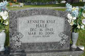 HALE, KENNETH KYLE - Henderson County, Tennessee | KENNETH KYLE HALE - Tennessee Gravestone Photos