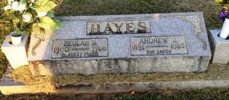 HAYES, BEULAH R. - Henderson County, Tennessee | BEULAH R. HAYES - Tennessee Gravestone Photos