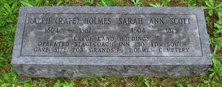 HOLMES, SARAH ANN - Henderson County, Tennessee | SARAH ANN HOLMES - Tennessee Gravestone Photos