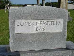 JONES CEMETERY, X - Henderson County, Tennessee   X JONES CEMETERY - Tennessee Gravestone Photos
