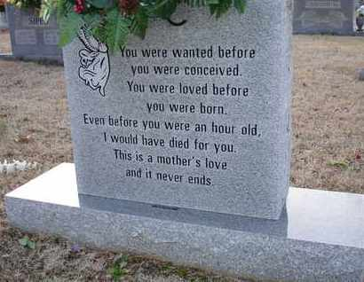 LOVE, A MOTHER'S - Henderson County, Tennessee | A MOTHER'S LOVE - Tennessee Gravestone Photos