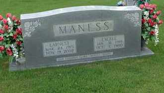 MANESS, ERNEST - Henderson County, Tennessee | ERNEST MANESS - Tennessee Gravestone Photos