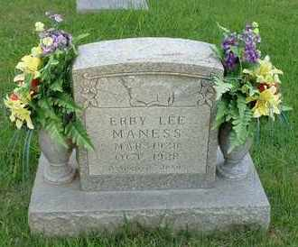 MANESS, ERBY LEE - Henderson County, Tennessee | ERBY LEE MANESS - Tennessee Gravestone Photos