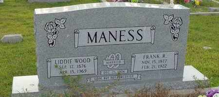 WOOD MANESS, LIDDIE - Henderson County, Tennessee | LIDDIE WOOD MANESS - Tennessee Gravestone Photos